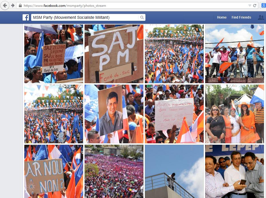 Photos sur le Facebook de l'Alliance Lepep.