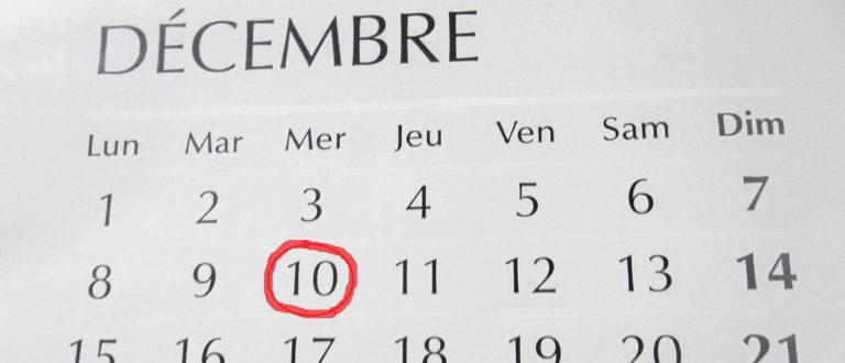 Article : Le 10 décembre