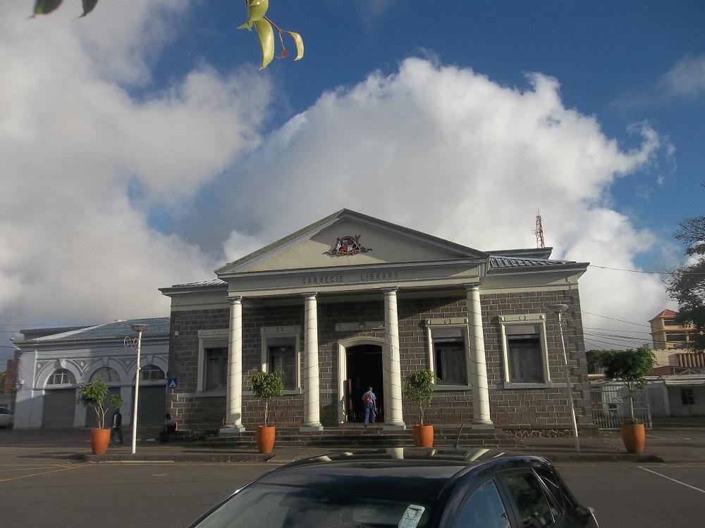 La bibliothèque Carnégie