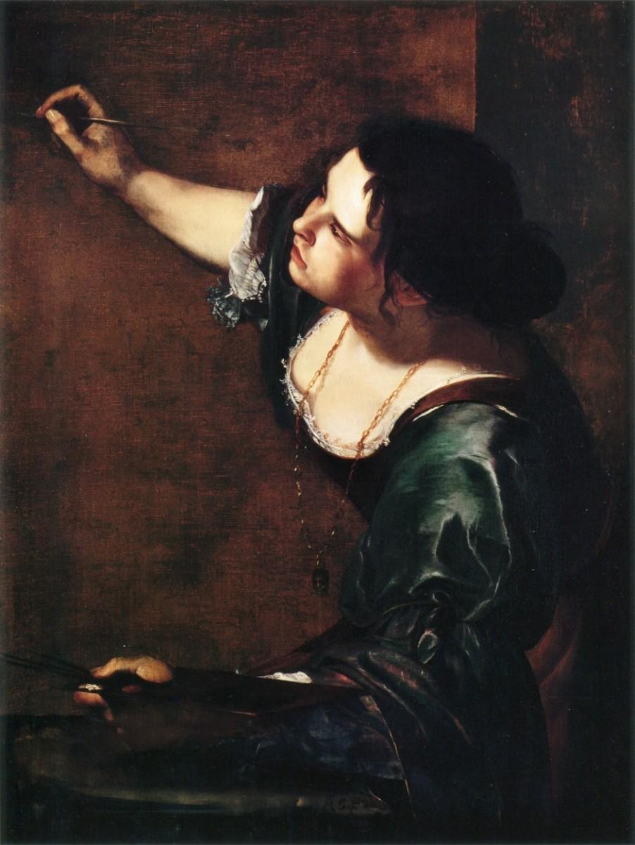 Autoportrait en allégorie de la peinture, tableau peint par Artemisia Gentileschi en 1638-1639.