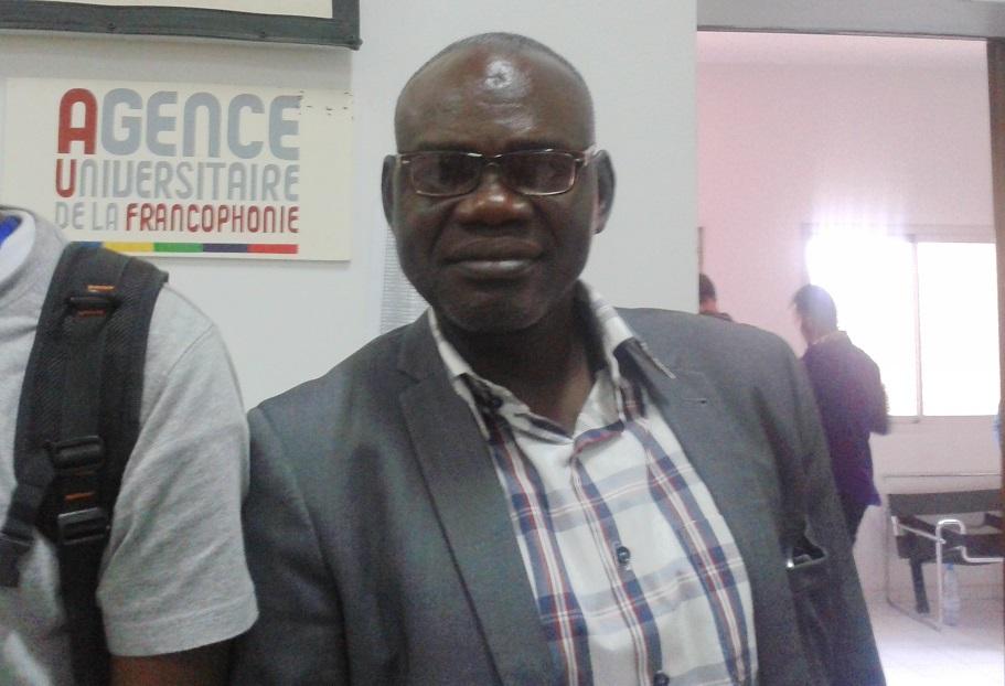 Clément Abaifouta, Président de l'Association des victimes du régime d'Hissène Habré.