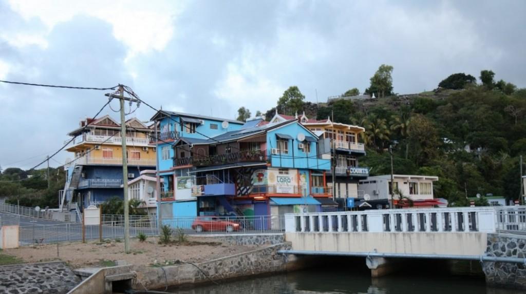 Vue de Port Mathurin, la capitale de Rodrigues. Crédit photo: M. Garreau