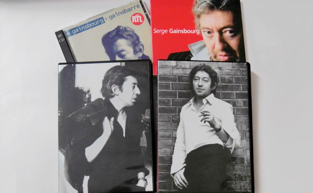 Ces CDs de Gainsbourg qui ont accompagné mon adolescence.