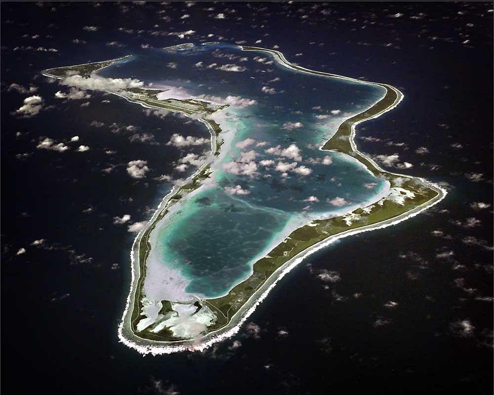 Diego Garcia, la base militaire américaine.