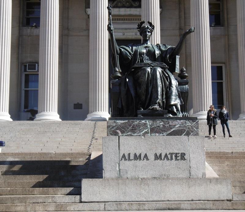 Columbia University est l'alma mater des Présidents Obama et Roosevelt.