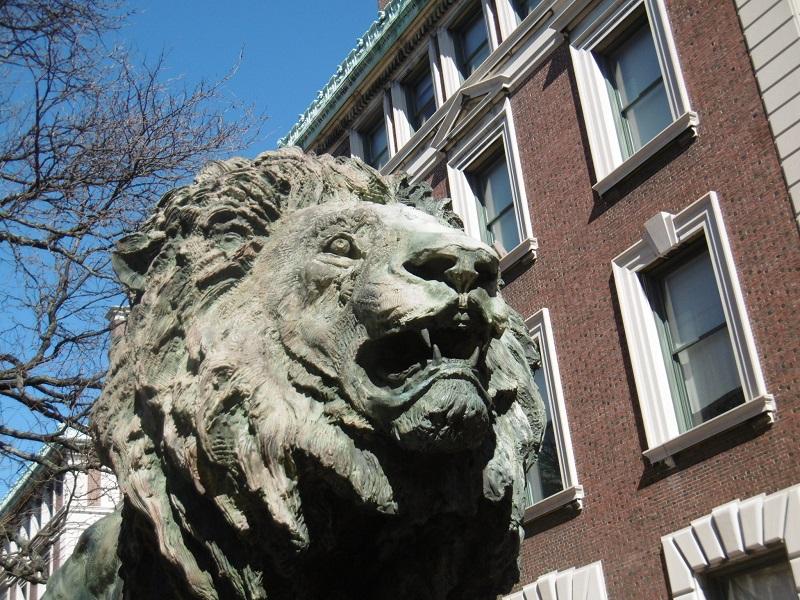 Mais ma sculpture préférée est le Scholar's Lion!!
