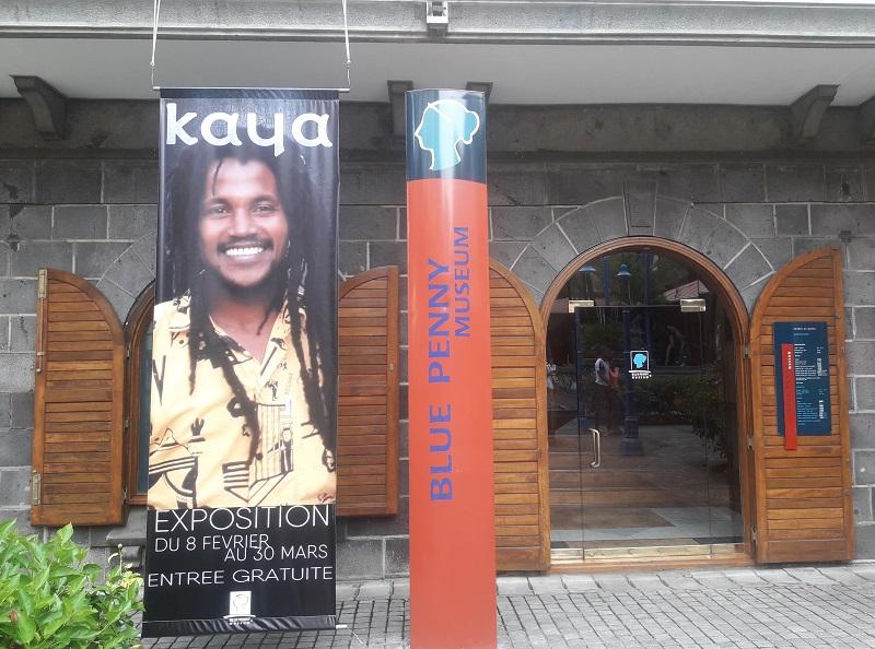 Exposition en hommage au chanteur Kaya! Photo: CR