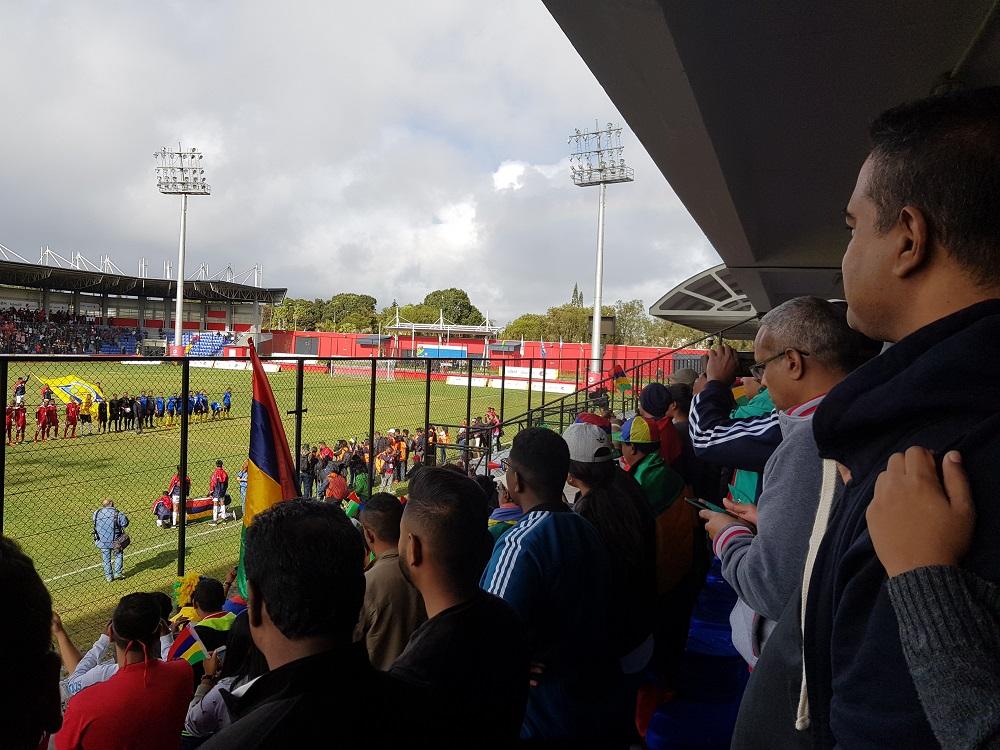 Le match d'ouverture des JIOI2019 entre les Seychelles et l'Ile Maurice!