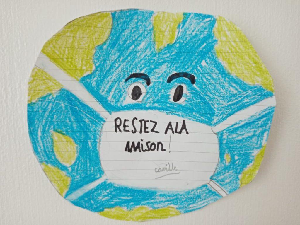 Merci à Camille, 8 ans, pour ce beau dessin!