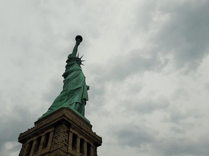 Rencontrer enfin la Statue de la Liberté! Un moment indescriptible!